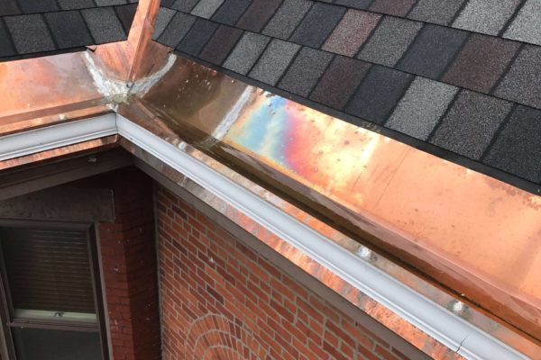 Copper Gutters in Columbus Ohio