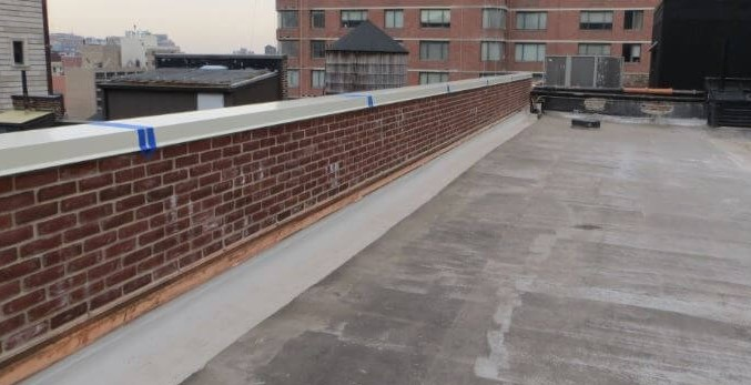 Roof Parapet Wall Termination