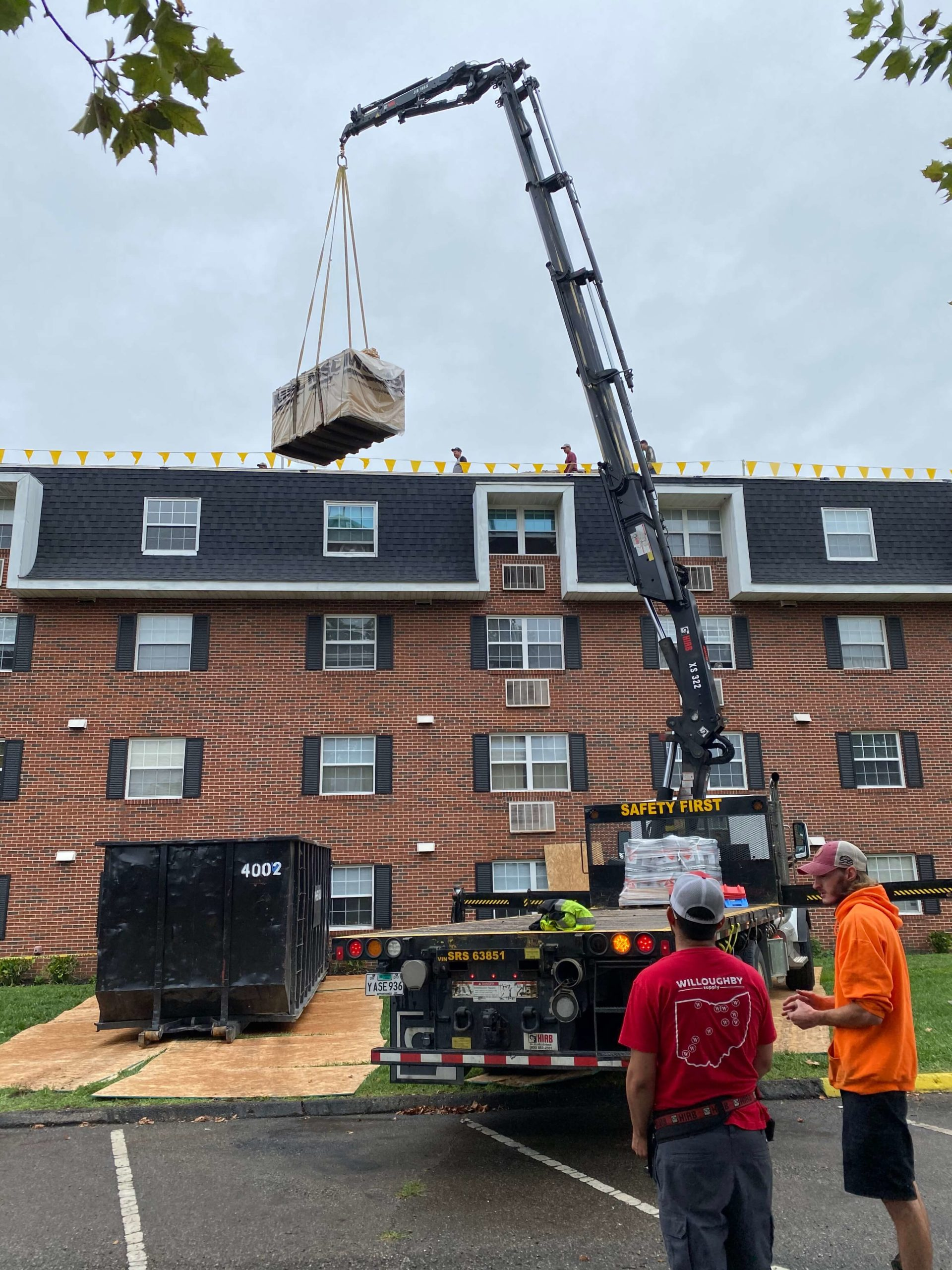 Columbus Ohio Commercial Roof Replacement